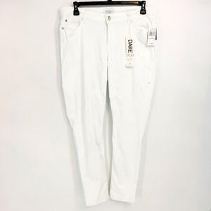 Celebrity Pink White Skinny Jeans